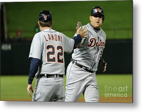 People Metal Print featuring the photograph Miguel Cabrera by Harry How