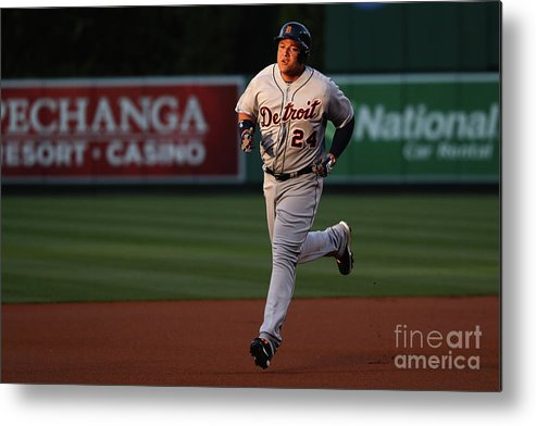 People Metal Print featuring the photograph Miguel Cabrera by Sean M. Haffey