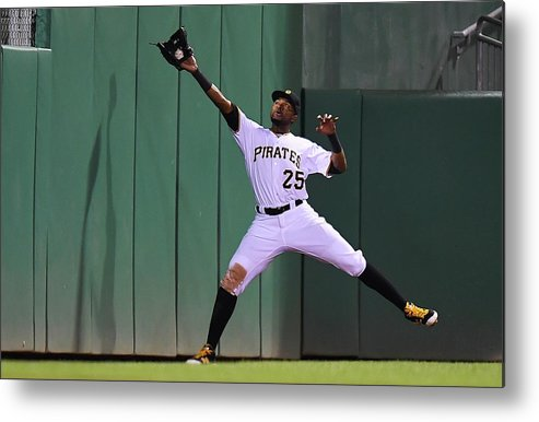 People Metal Print featuring the photograph Miguel Montero and Gregory Polanco by Joe Sargent