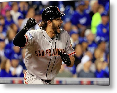 Mike Morse Metal Print featuring the photograph Mike Morse by Rob Carr