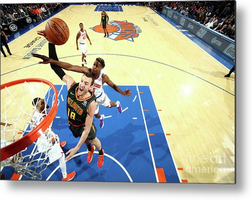 Nba Pro Basketball Metal Print featuring the photograph Miles Plumlee by Nathaniel S. Butler