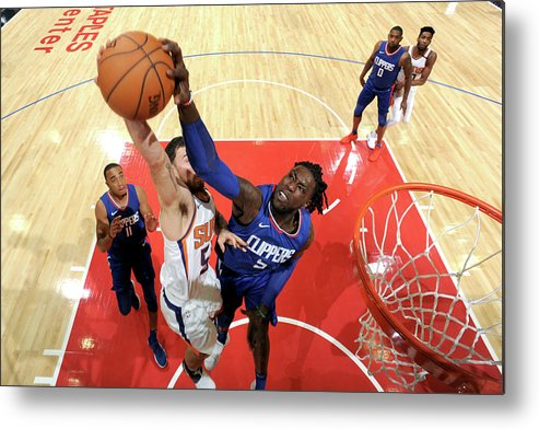 Nba Pro Basketball Metal Print featuring the photograph Montrezl Harrell by Andrew D. Bernstein