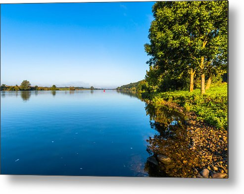 Scenics Metal Print featuring the photograph Mooder Maas by William Mevissen