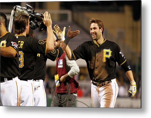 Ninth Inning Metal Print featuring the photograph Neil Walker by Justin K. Aller