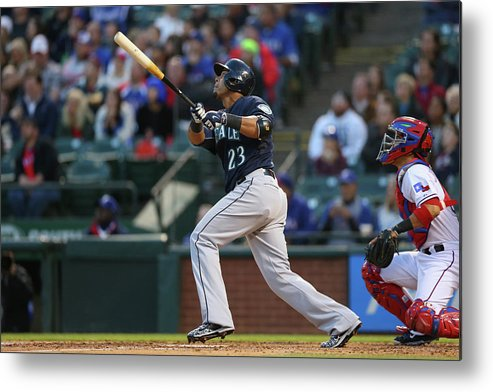 People Metal Print featuring the photograph Nelson Cruz by Ronald Martinez