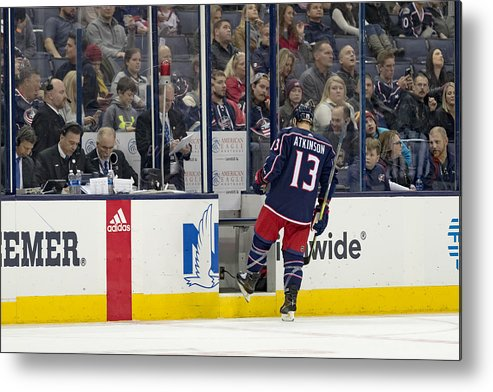 National Hockey League Metal Print featuring the photograph NHL: DEC 01 Ducks at Blue Jackets by Icon Sportswire