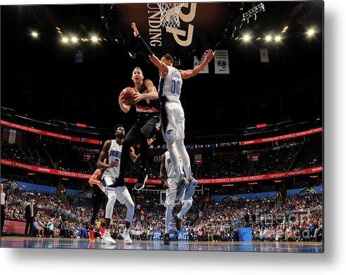 Nba Pro Basketball Metal Print featuring the photograph Nik Stauskas by Fernando Medina