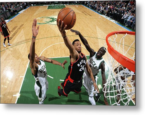 Playoffs Metal Print featuring the photograph Norman Powell by Gary Dineen