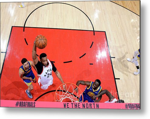 Playoffs Metal Print featuring the photograph Norman Powell by Jesse D. Garrabrant