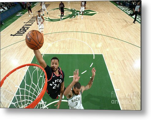 Game Two Metal Print featuring the photograph Norman Powell by Nathaniel S. Butler