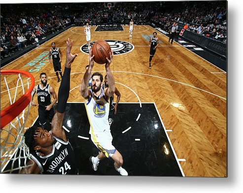 Nba Pro Basketball Metal Print featuring the photograph Omri Casspi by Nathaniel S. Butler