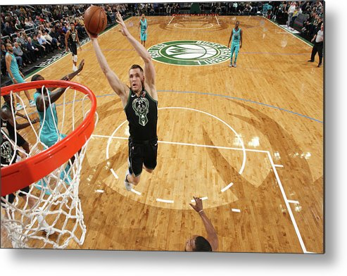 Nba Pro Basketball Metal Print featuring the photograph Pat Connaughton by Gary Dineen