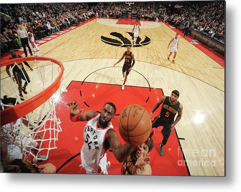 Patrick Patterson Metal Print featuring the photograph Patrick Patterson by Ron Turenne