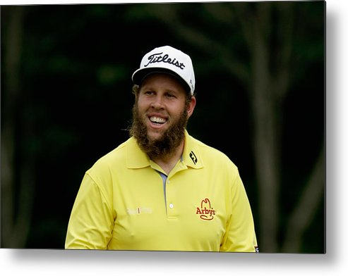 People Metal Print featuring the photograph PGA Championship - Round Three by Andy Lyons
