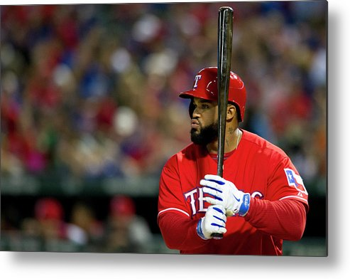American League Baseball Metal Print featuring the photograph Prince Fielder by Cooper Neill