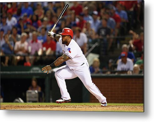 People Metal Print featuring the photograph Prince Fielder by Ronald Martinez