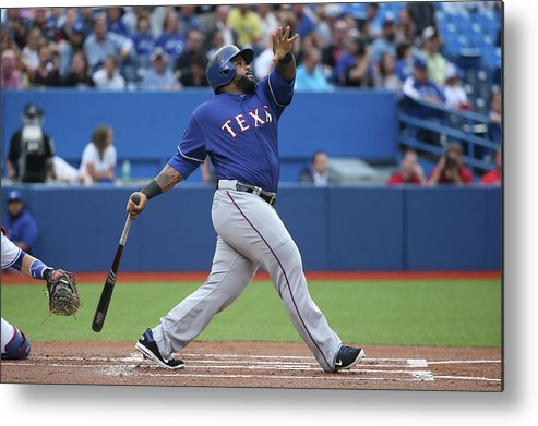 People Metal Print featuring the photograph Prince Fielder by Tom Szczerbowski