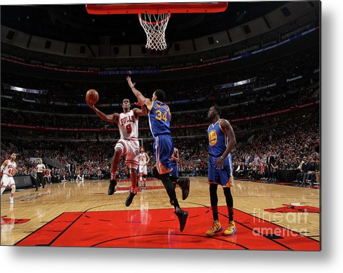 Nba Pro Basketball Metal Print featuring the photograph Rajon Rondo by Gary Dineen