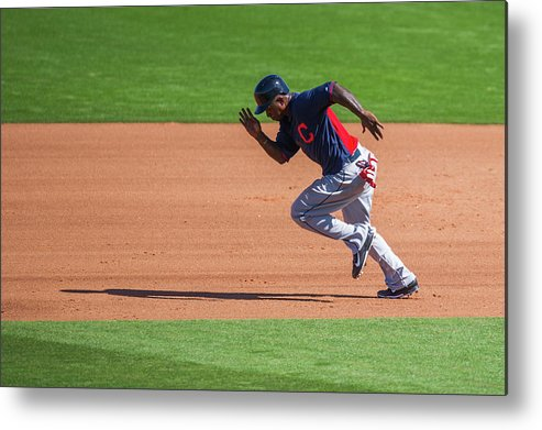 Cleveland Indians Metal Print featuring the photograph Red Morgan by Rob Tringali
