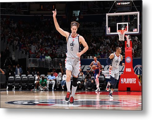 Playoffs Metal Print featuring the photograph Robin Lopez by Stephen Gosling