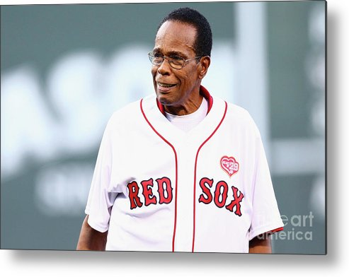 People Metal Print featuring the photograph Rod Carew by Maddie Meyer