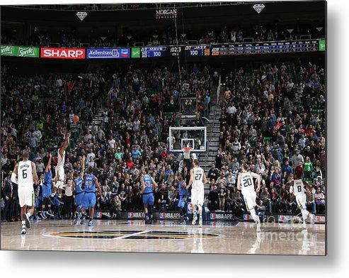 Nba Pro Basketball Metal Print featuring the photograph Rodney Hood by Melissa Majchrzak