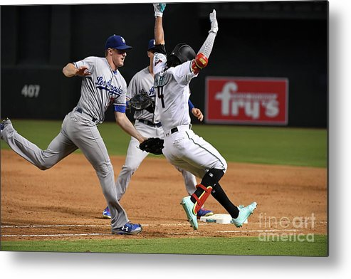 Ross Stripling Metal Print featuring the photograph Ross Stripling by Norm Hall