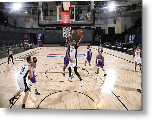 Nba Pro Basketball Metal Print featuring the photograph Rudy Gay by David Dow