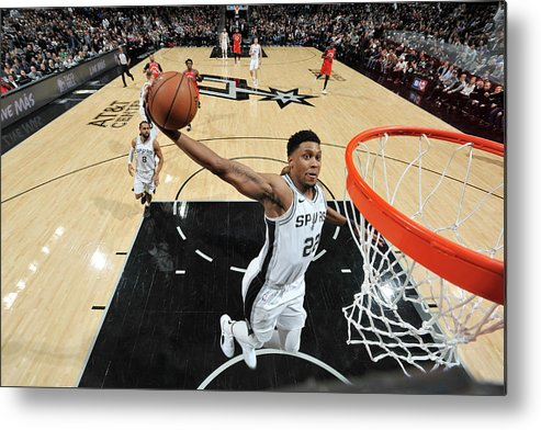 Nba Pro Basketball Metal Print featuring the photograph Rudy Gay by Mark Sobhani