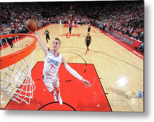 Nba Pro Basketball Metal Print featuring the photograph Sam Dekker by Bill Baptist
