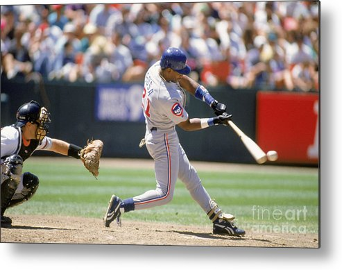 Candlestick Park Metal Print featuring the photograph Sammy Sosa by Jeff Carlick