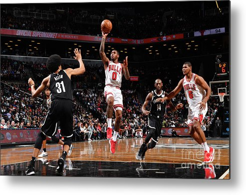Sports Ball Metal Print featuring the photograph Sean Kilpatrick by Jesse D. Garrabrant