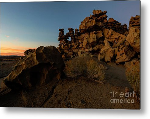 Fantasy Canyon Metal Print featuring the photograph Shaped by the Elements by Mike Dawson