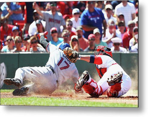 People Metal Print featuring the photograph Shin-soo Choo by Maddie Meyer