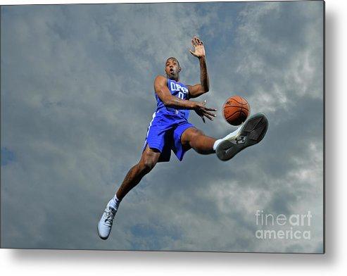 Nba Pro Basketball Metal Print featuring the photograph Sindarius Thornwell by Jesse D. Garrabrant