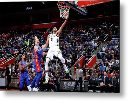 Nba Pro Basketball Metal Print featuring the photograph Spencer Dinwiddie by Brian Sevald