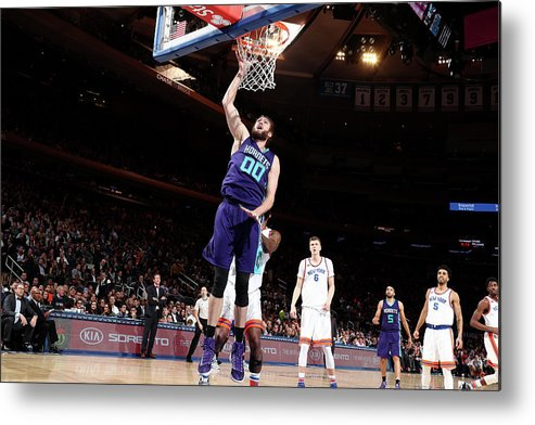 Nba Pro Basketball Metal Print featuring the photograph Spencer Hawes by Nathaniel S. Butler