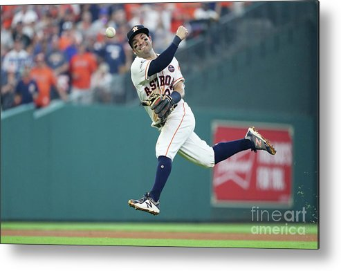 Game Two Metal Print featuring the photograph Starlin Castro by Elsa