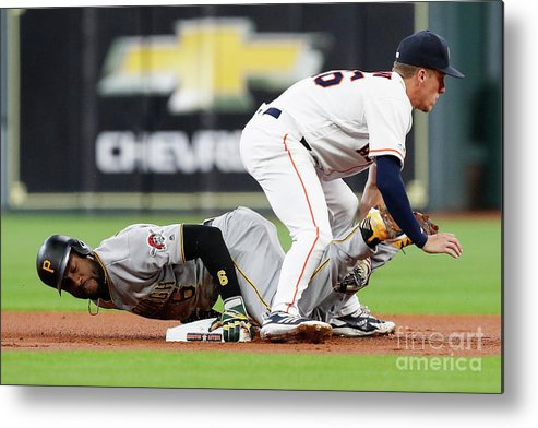 People Metal Print featuring the photograph Starling Marte by Tim Warner