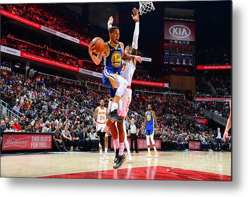 Atlanta Metal Print featuring the photograph Stephen Curry by Scott Cunningham
