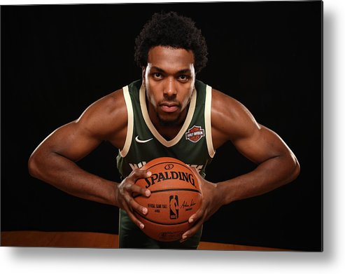 Nba Pro Basketball Metal Print featuring the photograph Sterling Brown by Brian Babineau