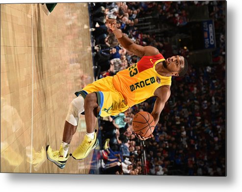 Nba Pro Basketball Metal Print featuring the photograph Sterling Brown by David Dow