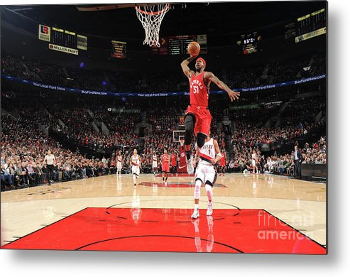 Nba Pro Basketball Metal Print featuring the photograph Terrence Ross by Cameron Browne
