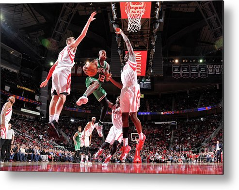 Nba Pro Basketball Metal Print featuring the photograph Terry Rozier by Bill Baptist