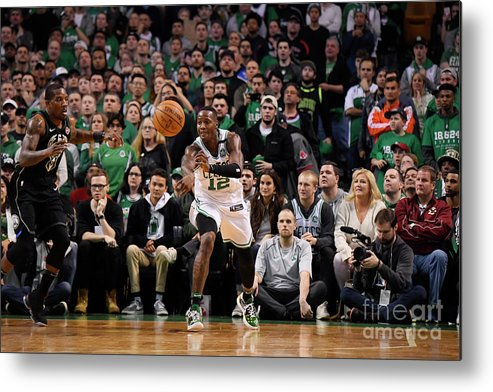 Playoffs Metal Print featuring the photograph Terry Rozier by Brian Babineau