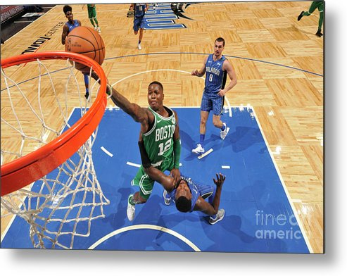 Nba Pro Basketball Metal Print featuring the photograph Terry Rozier by Fernando Medina