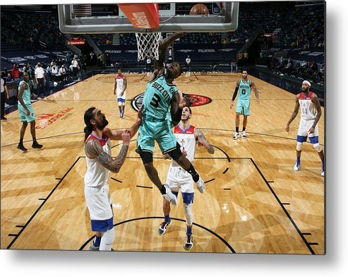 Smoothie King Center Metal Print featuring the photograph Terry Rozier by Layne Murdoch Jr.