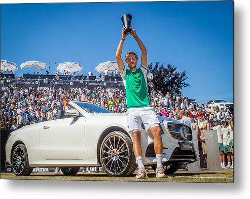 Mercedes Cup Metal Print featuring the photograph The MercedesCup by Thomas Niedermueller