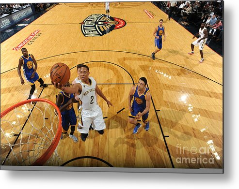 Smoothie King Center Metal Print featuring the photograph Tim Frazier by Andrew D. Bernstein
