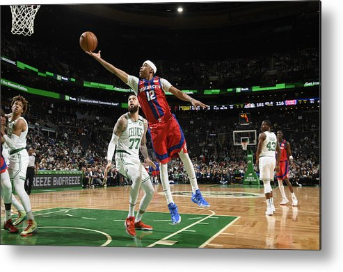 Nba Pro Basketball Metal Print featuring the photograph Tim Frazier by Brian Babineau